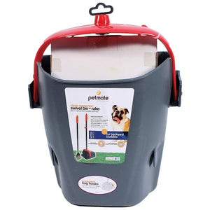 Clean Response Swivel Bin and Rake-Potty Time-The Classic Pooch