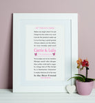 Best Friend Friendship Print