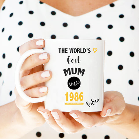 World's Best Mum/Grandma Mug