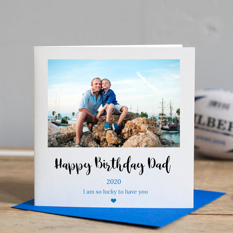 Dad Photo Birthday Card