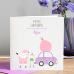 Personalised Granddaughter Christmas Card