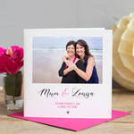 Personalised Mum Photo Card