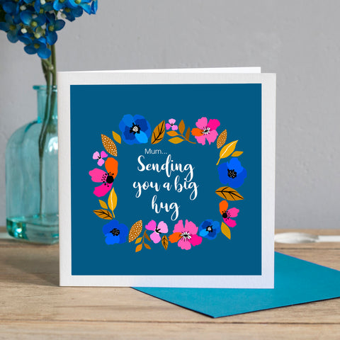 Personalised Sending You A Big Hug Card