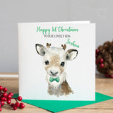 Snowy Dear Christmas Card
