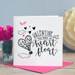 You Make My Heart Float Card