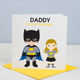 Daddy Superhero Card