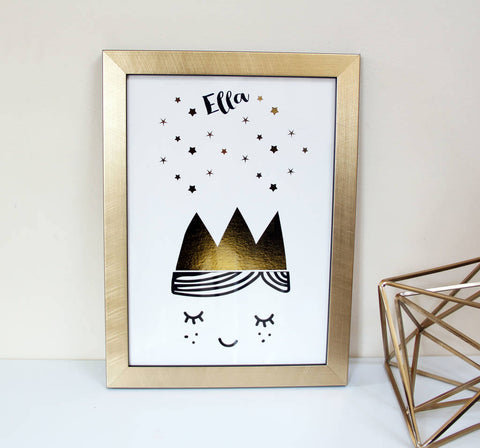 Scandinavian Art Print - Bear