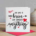 She Who is Brave Card