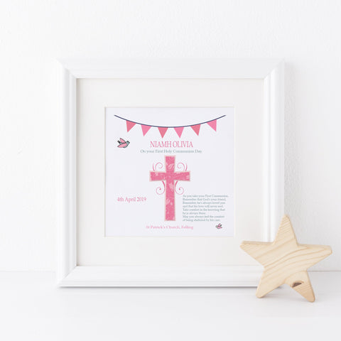 Girl's 1st Holy Communion Frame