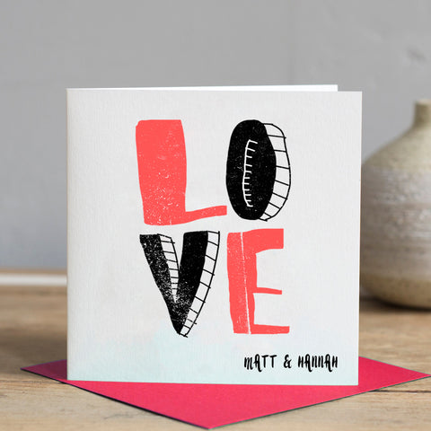 LOVE Personalised Card