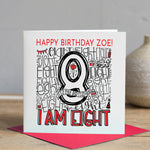 Personalised 8th Birthday Card