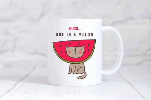 Personalised One in a Melon Mug