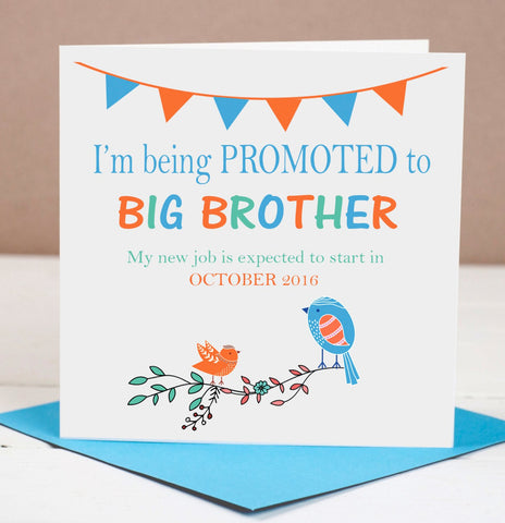 Pregnancy Announcement Card -  Big Brother