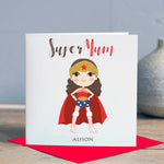Personalised Supermum Card