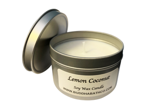 Lemon Coconut Soy Wax Candle