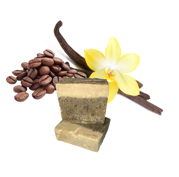 Vanilla Coffee Soap Bar
