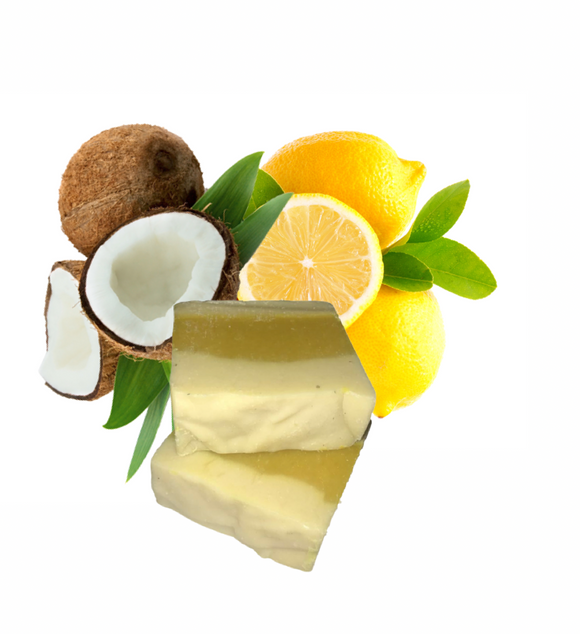 Lemon Coconut Soap Bar