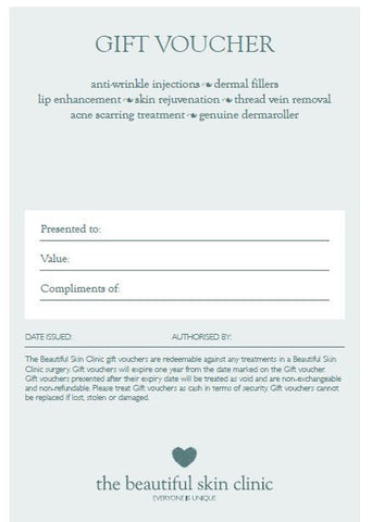 Gift Voucher - The Beautiful Skin Clinic