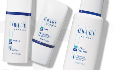 Obagi Nu-Derm® System - in Clinic
