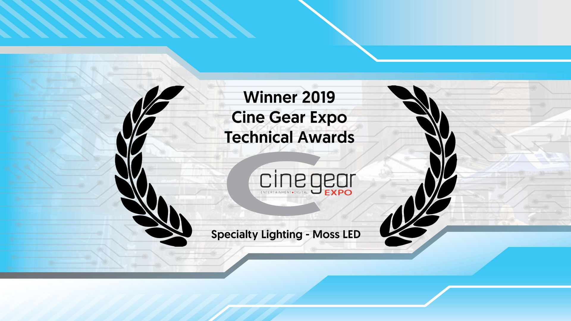 Cinegear Technical Awards Winner!