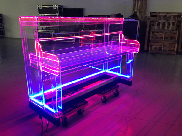 Moss Led Lights Up A Piano For Hedley