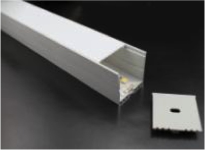 Aluminum Channel - MOSS-ALM-3535