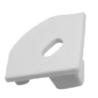 MOSS-ALQ-1919H End Cap - With Hole
