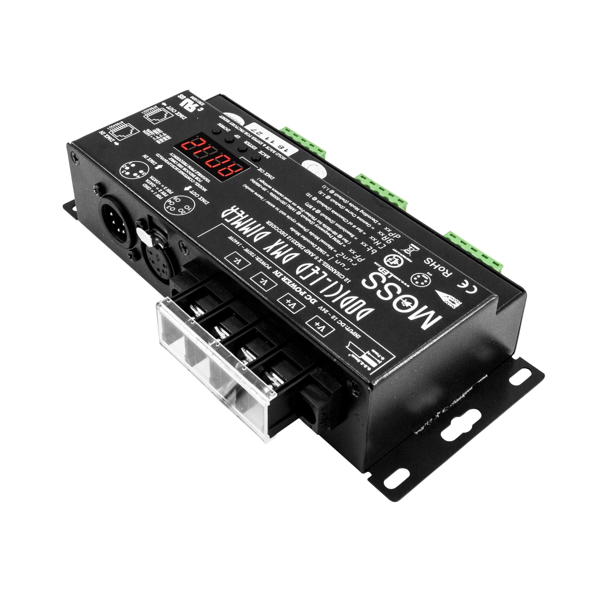 High Cri Flexible Led Lighting And Flicker Free Dimming Dmx Control Flickerledcircuitboardwebpng Dodici 12 Channel Dimmer