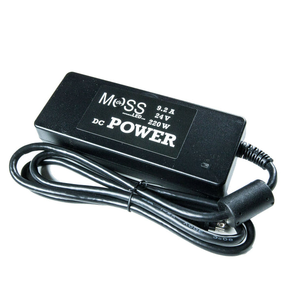 Rental - 24V 220W PSU with C7 Cable - Moss LED
