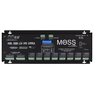 Rental - Dual-Quad-LED DMX Dimmer - Moss LED