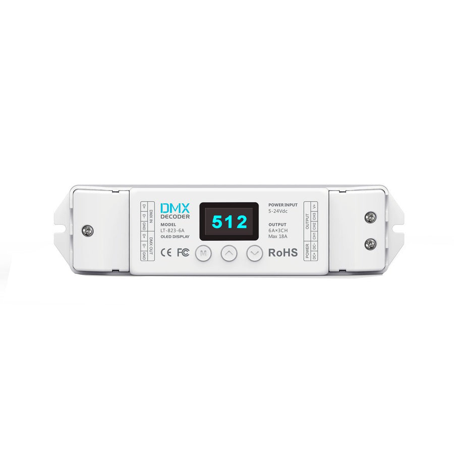 DMX Dimmer 3 / 4 Channel 16-Bit