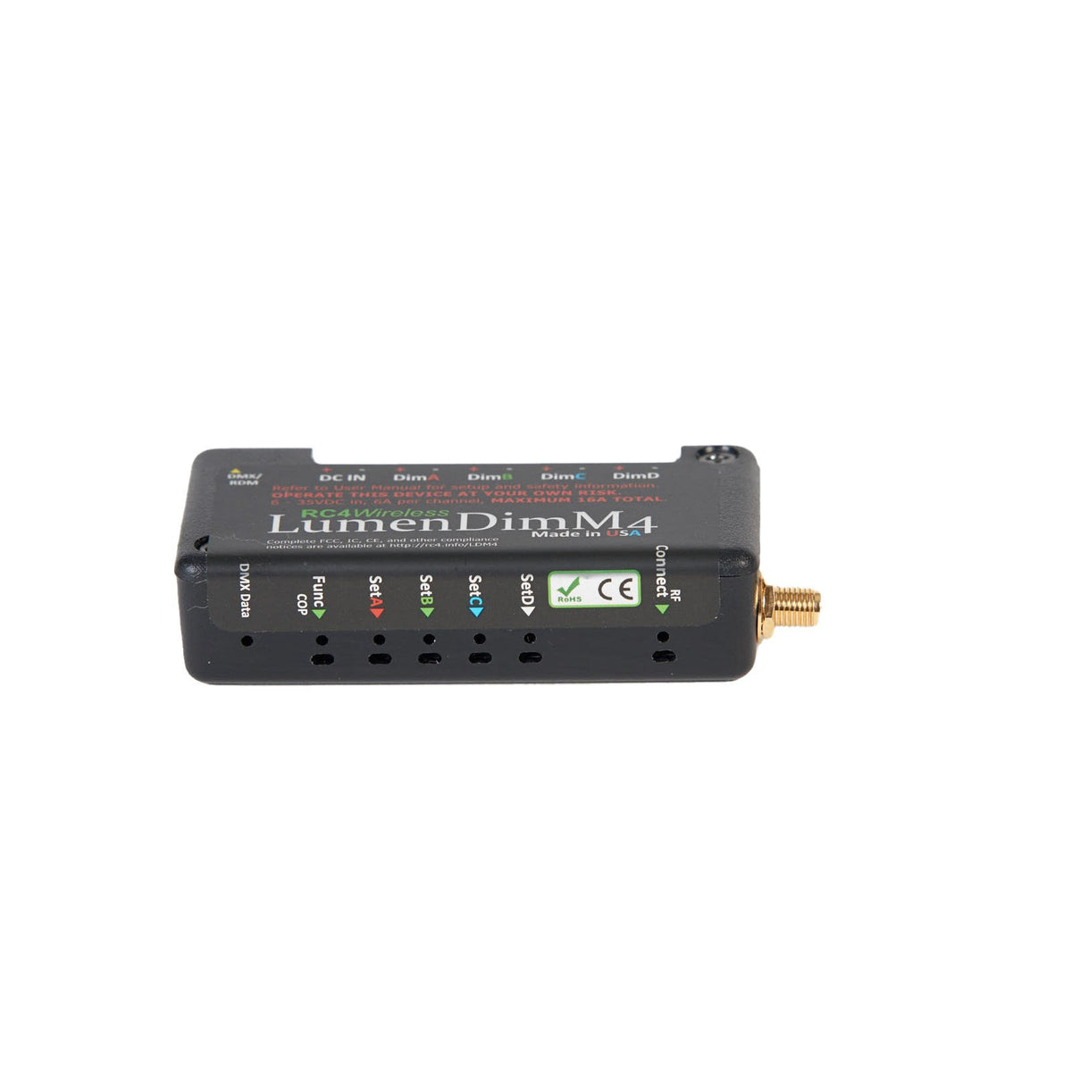 LumenDimM4 - 4 Channel CRMX Wireless Dimmer