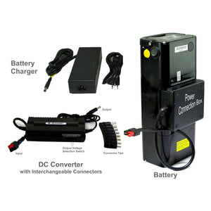 Super Capacity Battery Pack - Moss LED