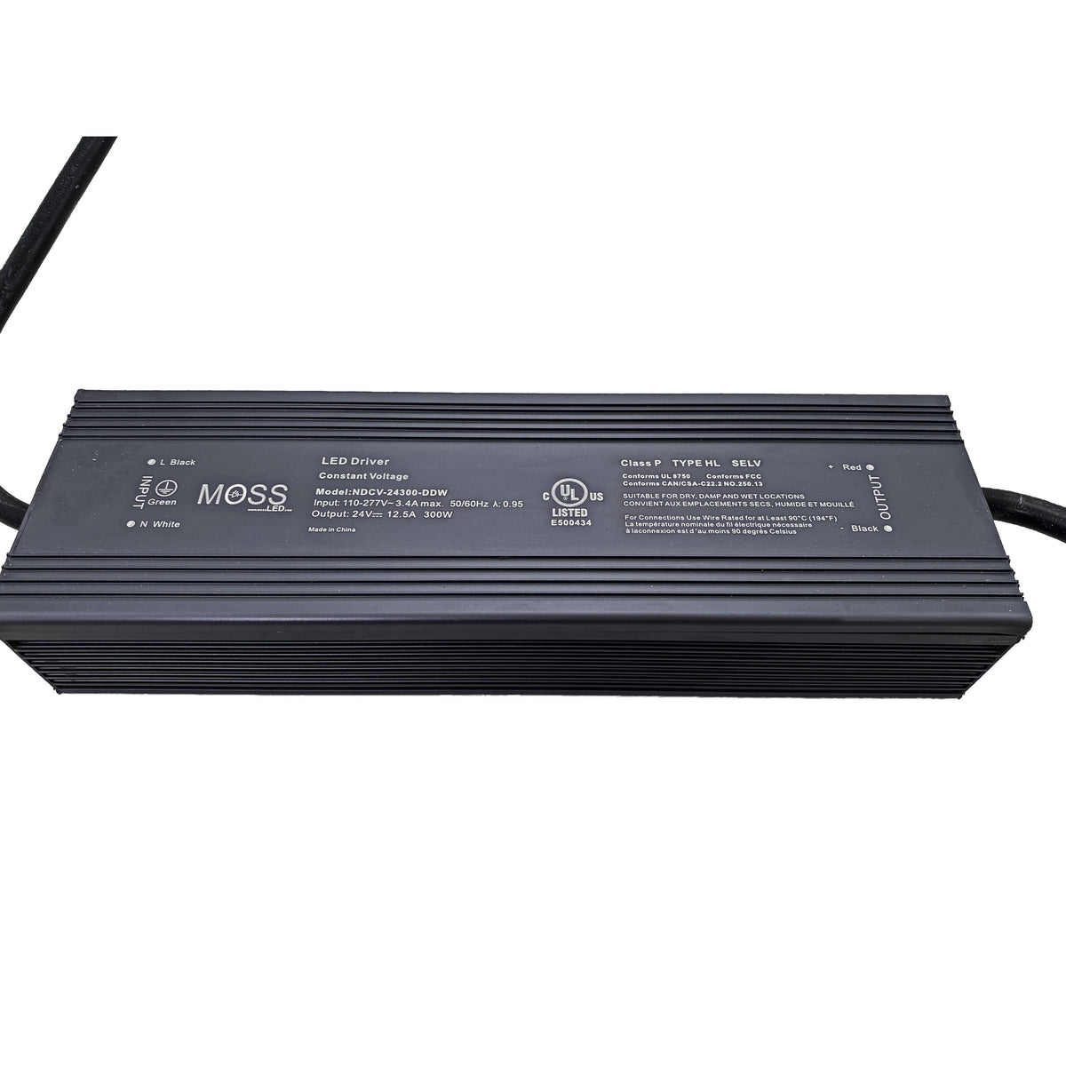 Non-Dim Fanless & Metal Housed Power Supplies
