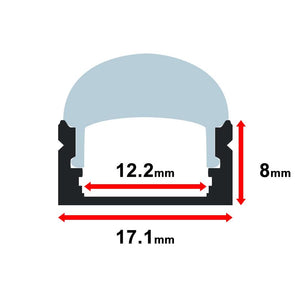 MOSS-ALM-1707F Cover Only - Clear - 2 Meter