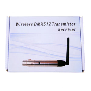 Wireless DMX 512 Transmitter / Receiver Wireless DMX Male