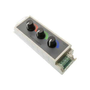 Three Channel RGB Rotary Dimmer