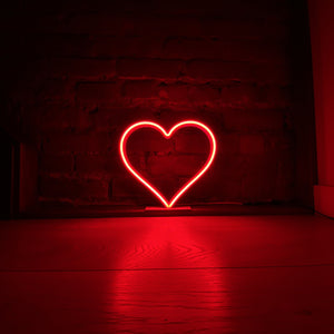 Light Up Live Sept 22 - Red Neon Heart