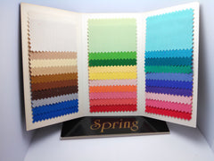 Spring Color Analysis Fabric Swatch Pack Tri-Fold