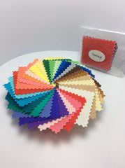 Seasonal Color Analysis Fabric Swatch Pack Mini