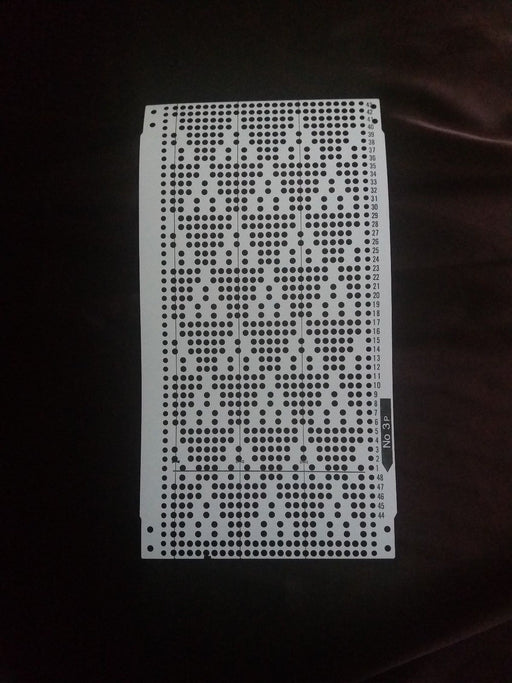 Brother Knitting Machine Punch Card Pattern Set KH 260