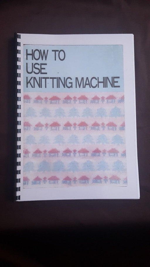 Brother Knitting Machine KH 891 Instruction manual