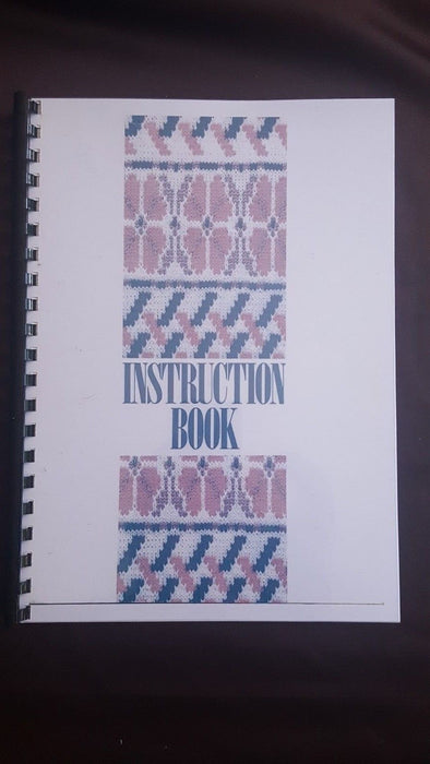 Brother Knitting Machine KH 965 Instruction manual