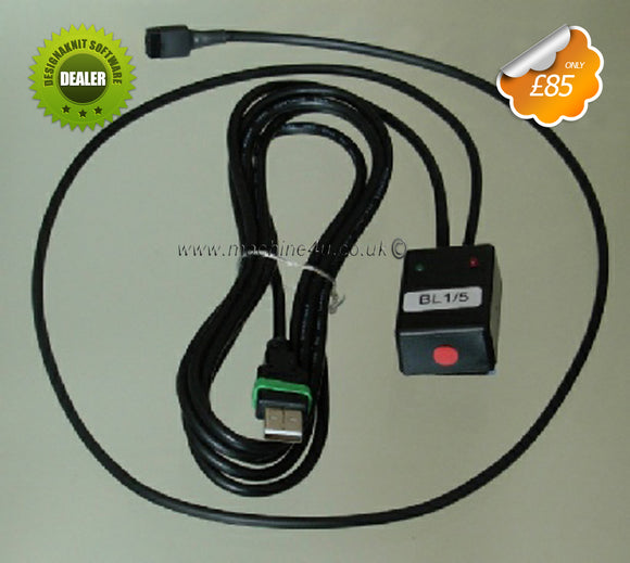 Designaknit Link 3 USB Cable for Brother Knitting Machines Brand New - machine4u