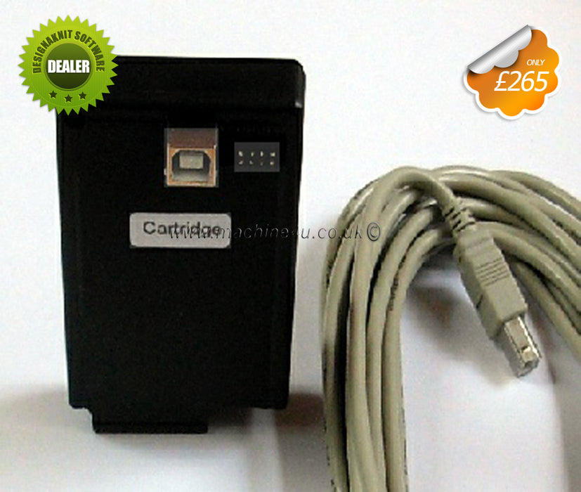 Designaknit Link 4 USB (Cartridge Cable) for Brother Knitting Machines Brand New - machine4u