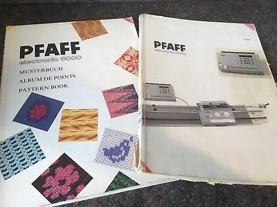 Passap/Pfaff Instruction Manual and Pattern Book Original