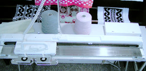 Silver Reed Electronic Knitting Machine SK 840 Brand New 2 Year Warranty For Sale - machine4u