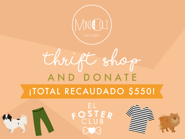 Thrift Shop and Donate: El Foster Club
