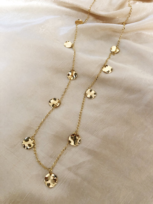 Charms Necklace Convex Coin
