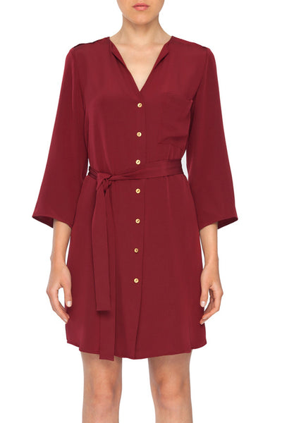 Emily Button Front Dress